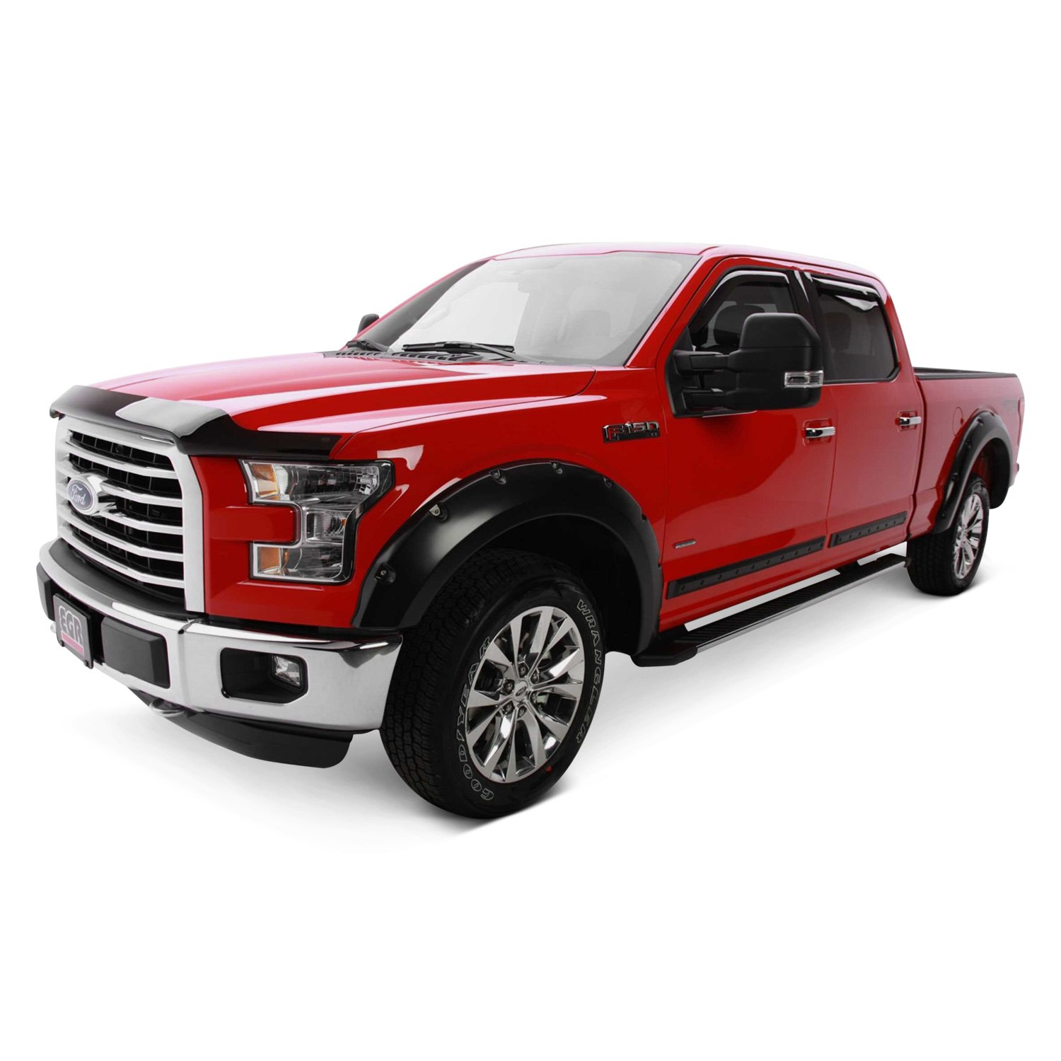 egr ford f 150 2006 bolt on style fender flares. Black Bedroom Furniture Sets. Home Design Ideas