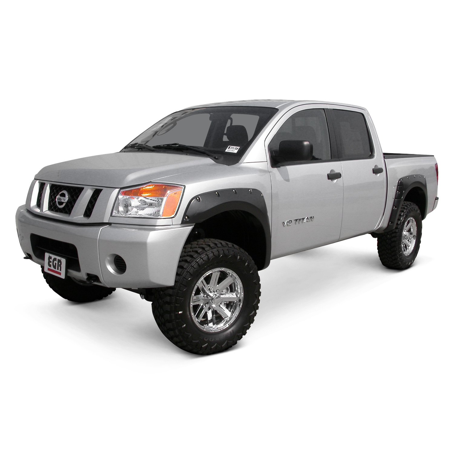 Egr 174 Nissan Titan 2004 2015 Bolt On Style Black Fender