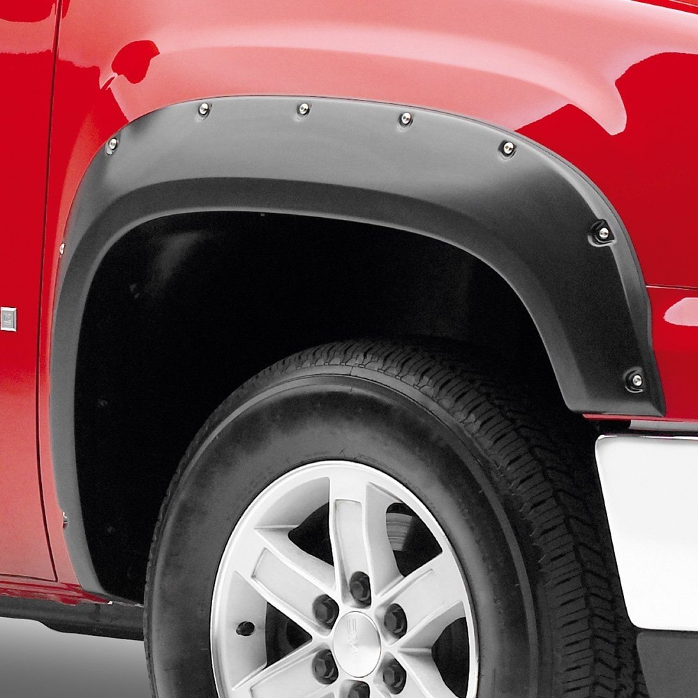 For Chevy Silverado 1500 07-13 T5i Front /& Rear Fender Flares Unpainted
