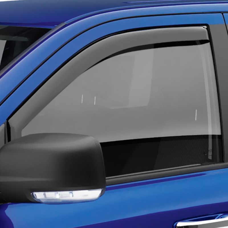 EGR® 561501 - In-Channel SlimLine™ Dark Smoke Front Window Visors 7f992b18fc5