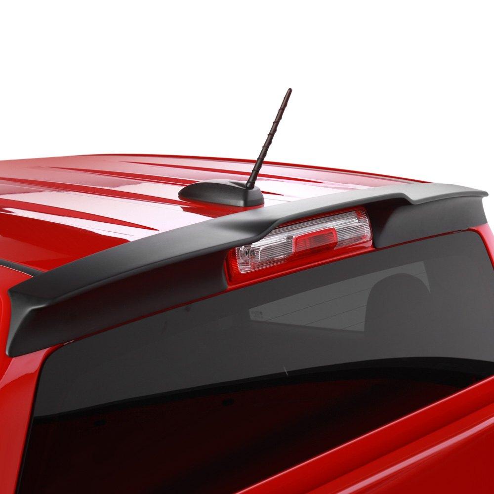 Egr 981399 matte black truck cab spoiler for Wrap master model 1500