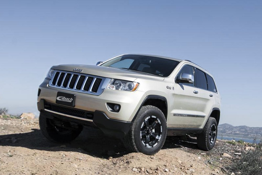 eibach jeep grand cherokee 2012 all terrain front and. Black Bedroom Furniture Sets. Home Design Ideas
