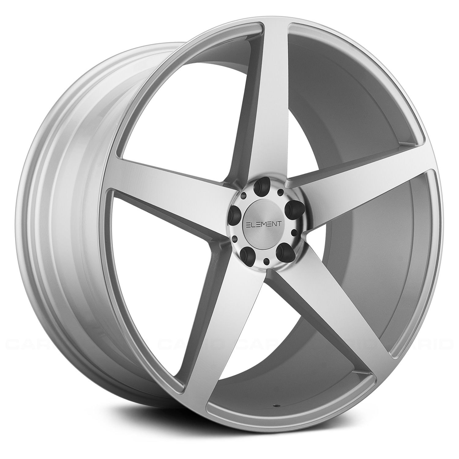 Element Silvers: Silver And Machined Face Rims