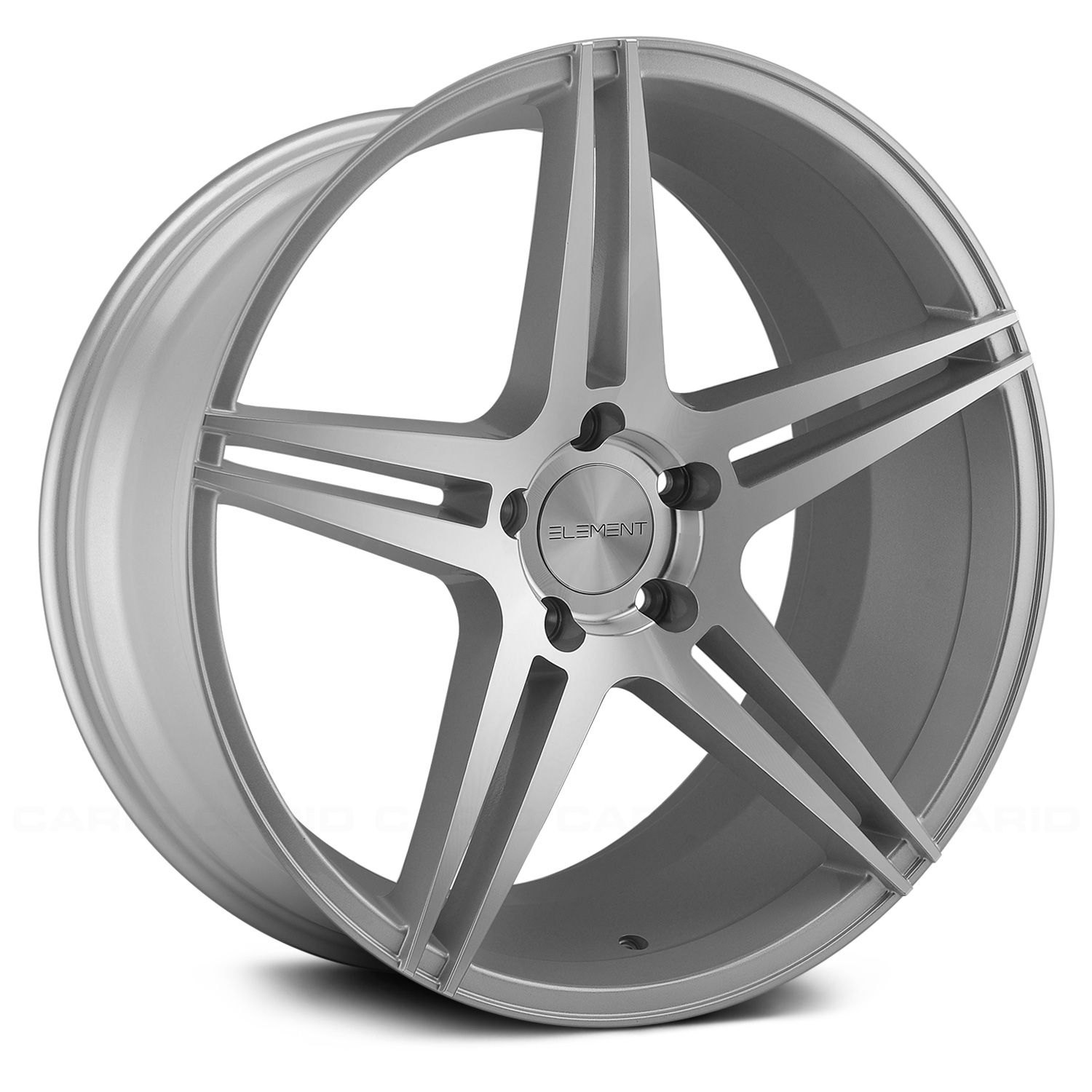 Element Silvers: Silver And Machined Finish Rims
