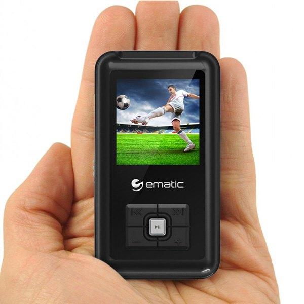 ematic em208vidbl em208vid 8gb mp3 video player rh carid com Ematic MP3 Player Touch MP3 Players at Walmart Price