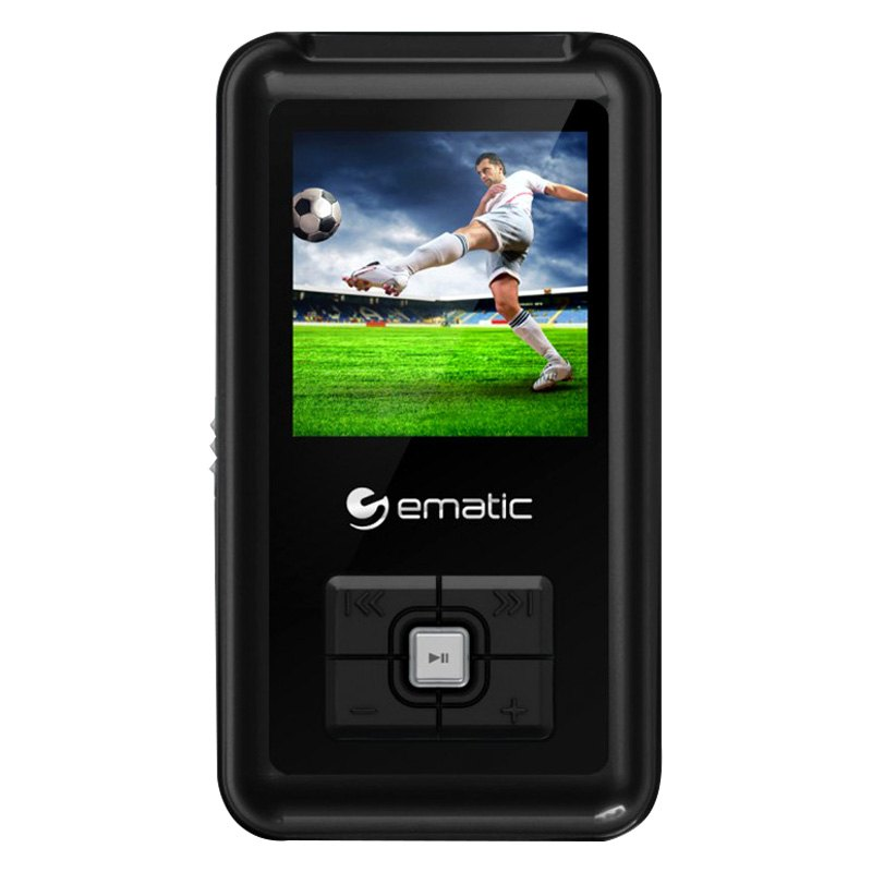 ematic em208vidbl em208vid 8gb mp3 video player rh carid com Ematic MP3 Player Case Ematic MP3 Player iTunes