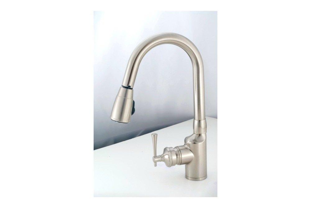 empire brass kitchen faucet 8 chrome gooseneck empire brass
