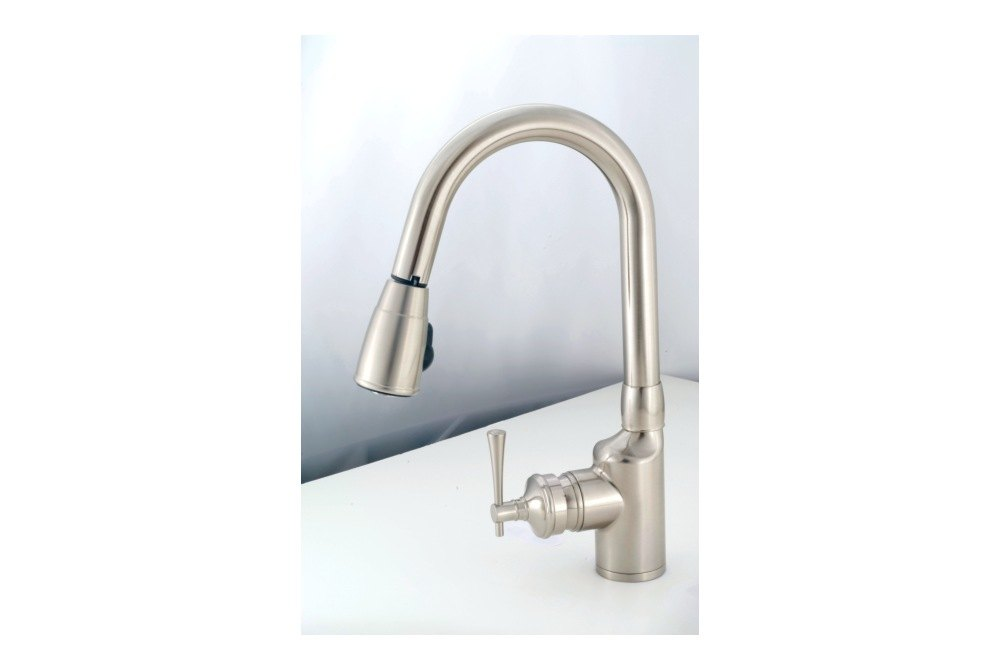 Empire Brass Sl2000n Kitchen Faucet 8 Chrome Gooseneck