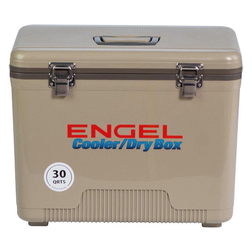 Tan Engel Cooler//Dry Box 19 Qt