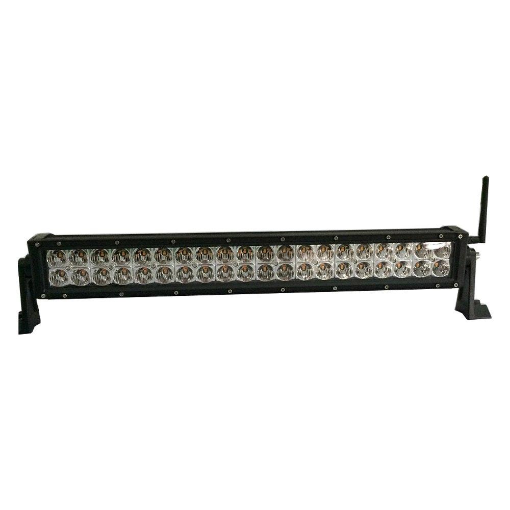 Engo Ql Series Dual Row Combo Spot Flood Beam Amber White Led Light Bar 6 12 20