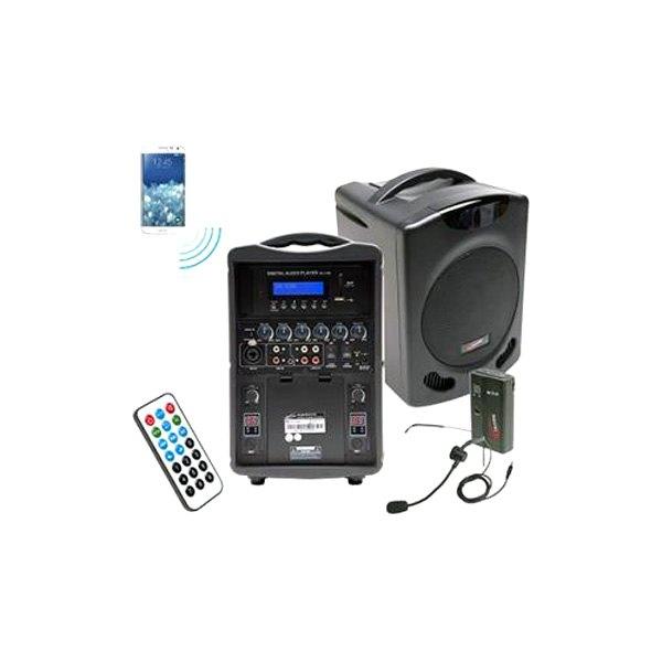 Ergoguys 174 Pa419m Califone Portable Bluetooth Pa System