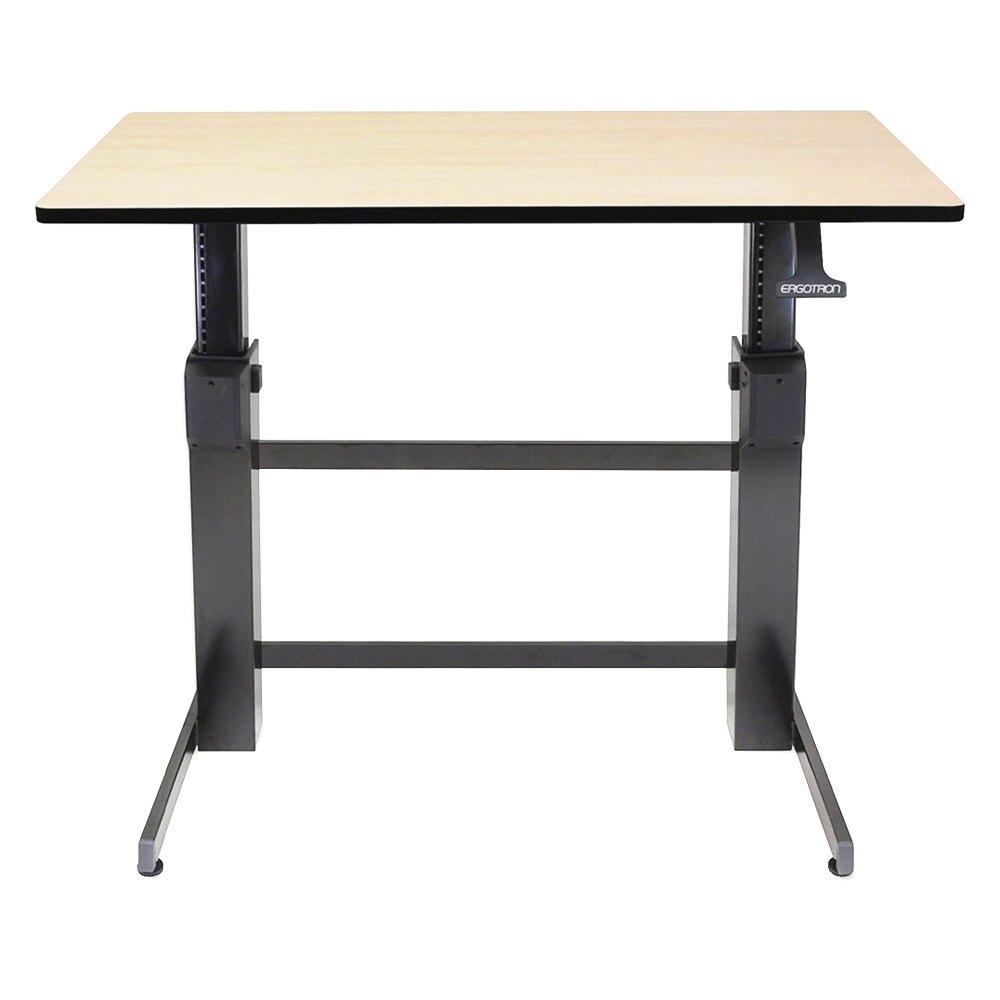 Ergotron 174 24 271 928 Workfit D Sit Stand Desk Birch