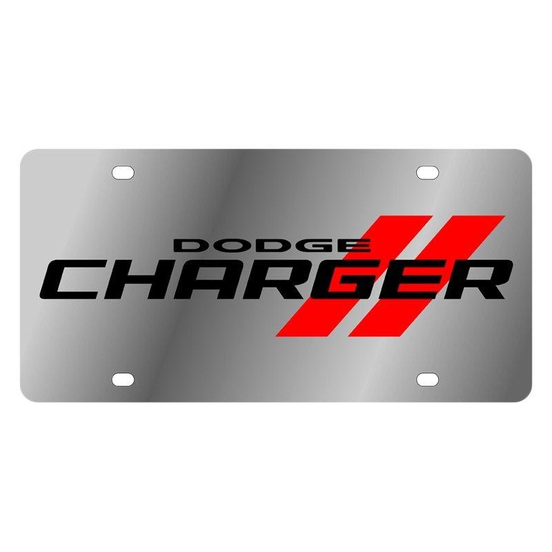 Dodge Performance Parts >> Eurosport Daytona® 1473N-1 - MOPAR Polished License Plate ...