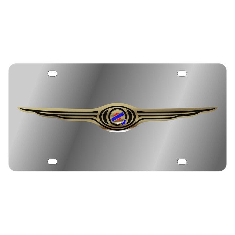 Chrysler logo license plates