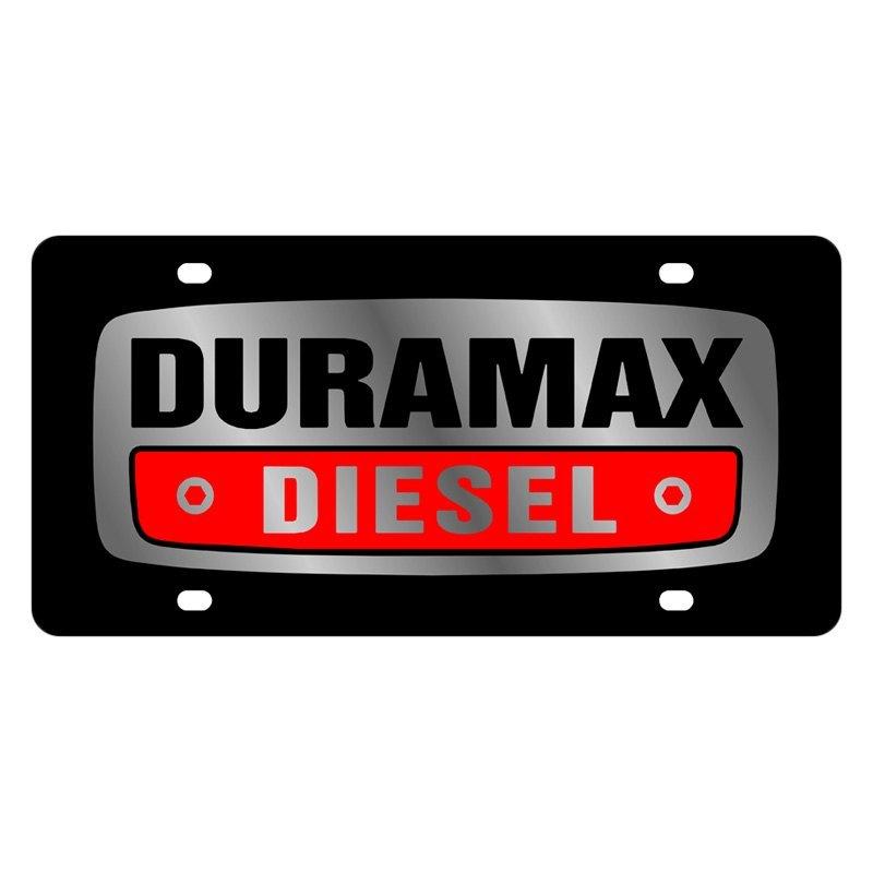 Download Eurosport Daytona 3309-1 GM Black License Plate w Silver ...