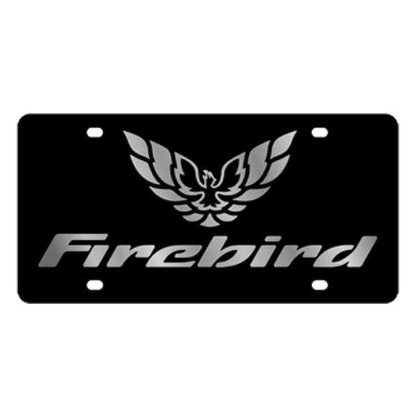 Eurosport Daytona® - GM License Plate with Firebird Logo ...