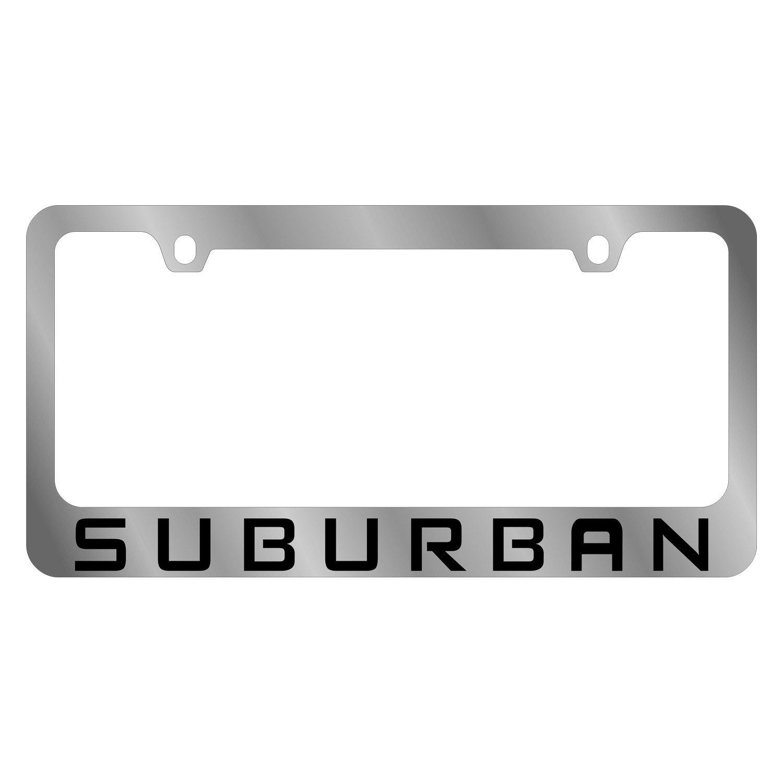 Eurosport Daytona® - GM 2-Hole Polished License Plate Frame with ...