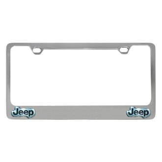 plate frame with jeep dual logos logo eurosport daytona license plates. Cars Review. Best American Auto & Cars Review