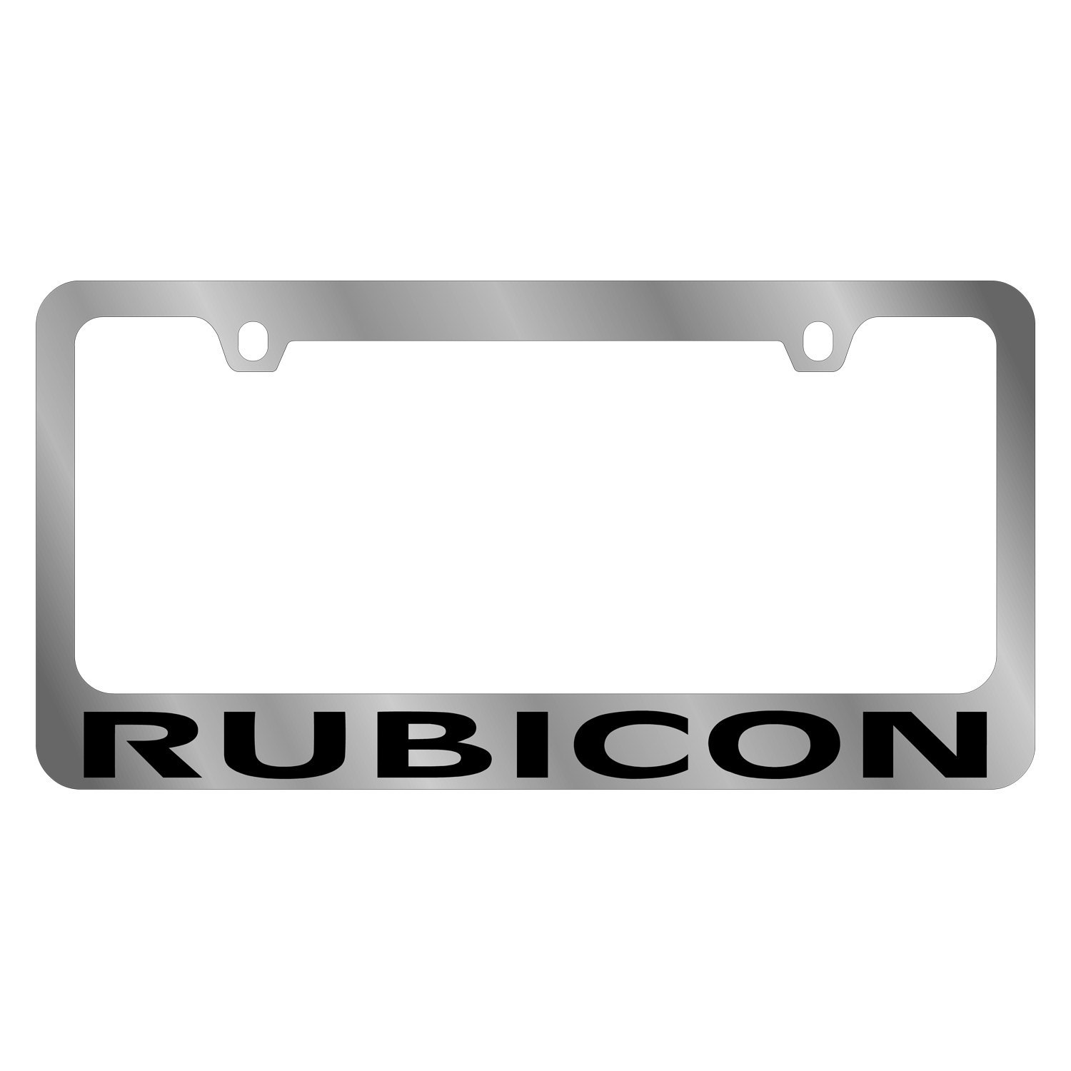 daytona 5440wo bk mopar license plate frame with jeep rubicon logo. Cars Review. Best American Auto & Cars Review