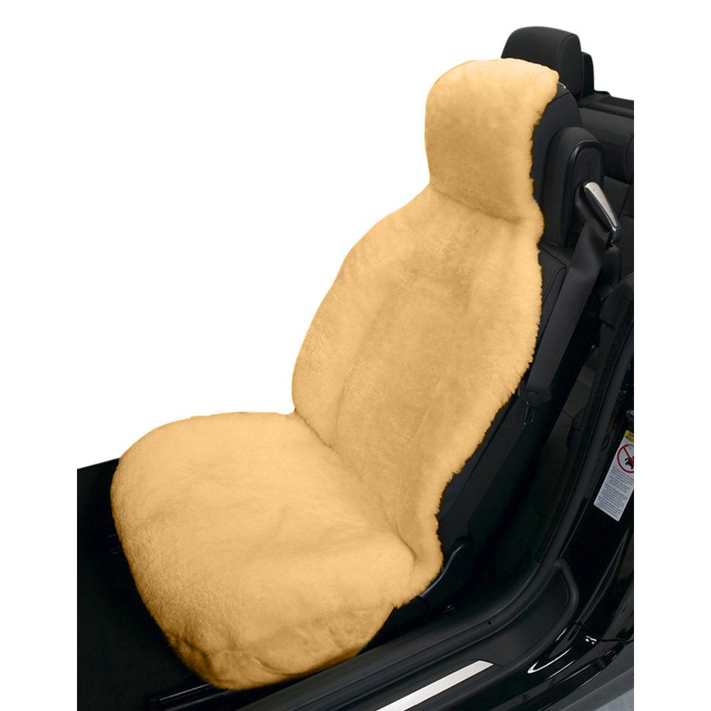 Phenomenal Eurow 1 Sc Sla Sideless Champagne Sheepskin Seat Cover Andrewgaddart Wooden Chair Designs For Living Room Andrewgaddartcom