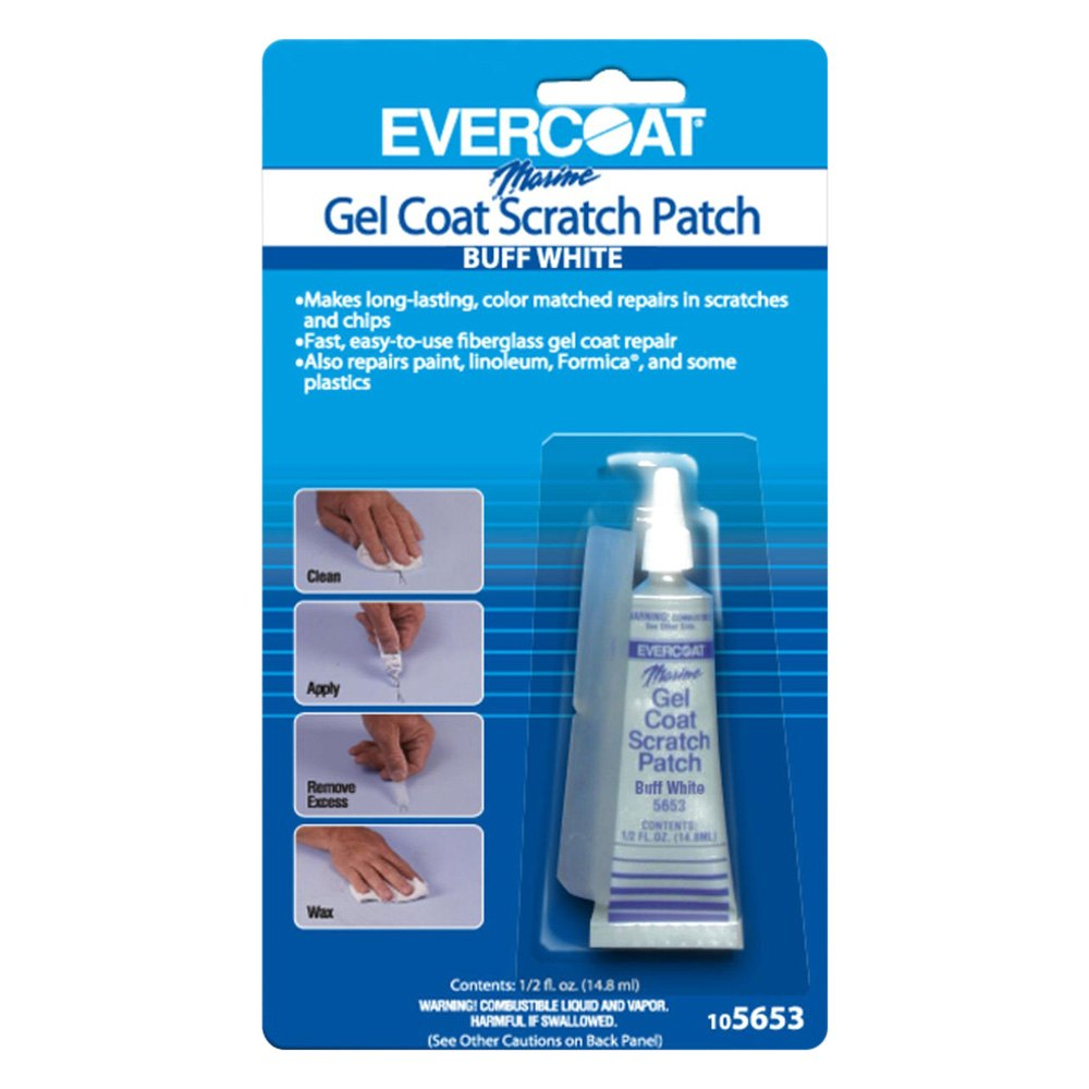 evercoat 105653 buff white gel coat scratch patch 1 2 oz. Black Bedroom Furniture Sets. Home Design Ideas