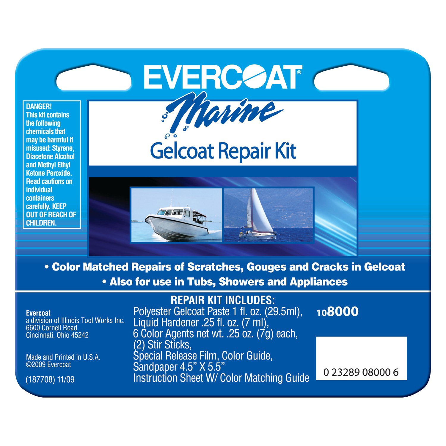Evercoat® 108000 - Gelcoat™ Repair Kit
