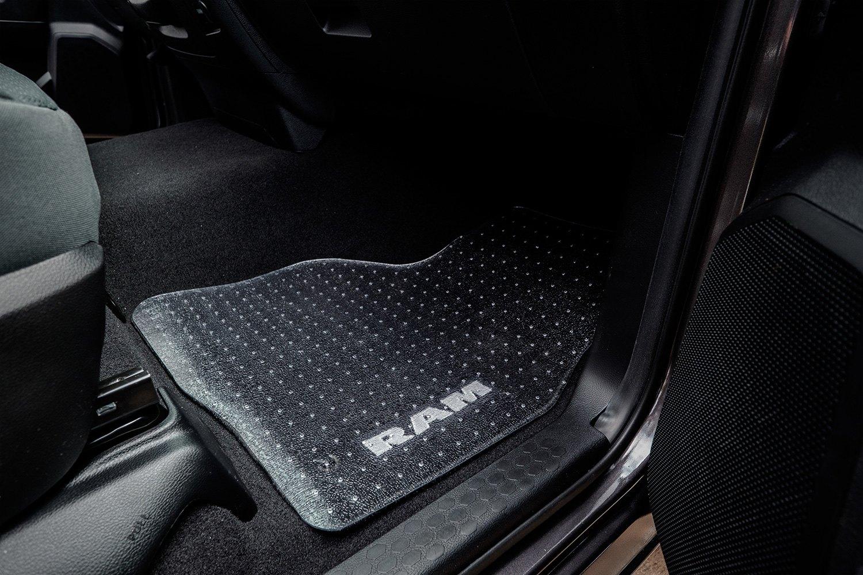 1st row clear floor mats