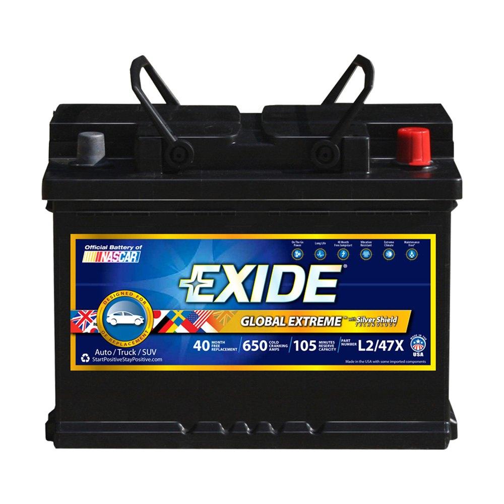 exide mini cooper 2010 nascar extreme battery. Black Bedroom Furniture Sets. Home Design Ideas