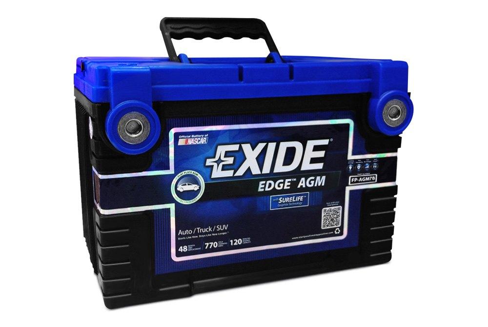 Exide Car Battery Lookup