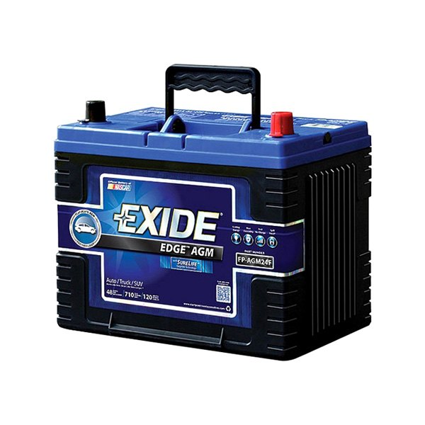 For Ford F  Exide Fp Agmf Edge Agm Battery