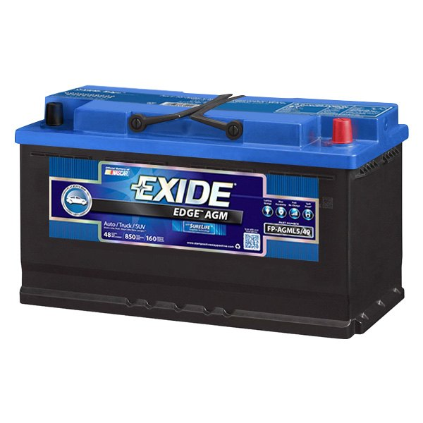 FP-AGM65 Exide - Edge AGM Battery | eBay