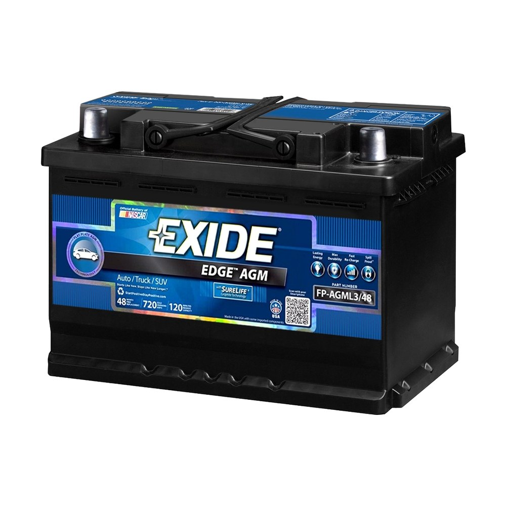 for chevy silverado 3500 2007 exide fp agml3 48 edge agm. Black Bedroom Furniture Sets. Home Design Ideas