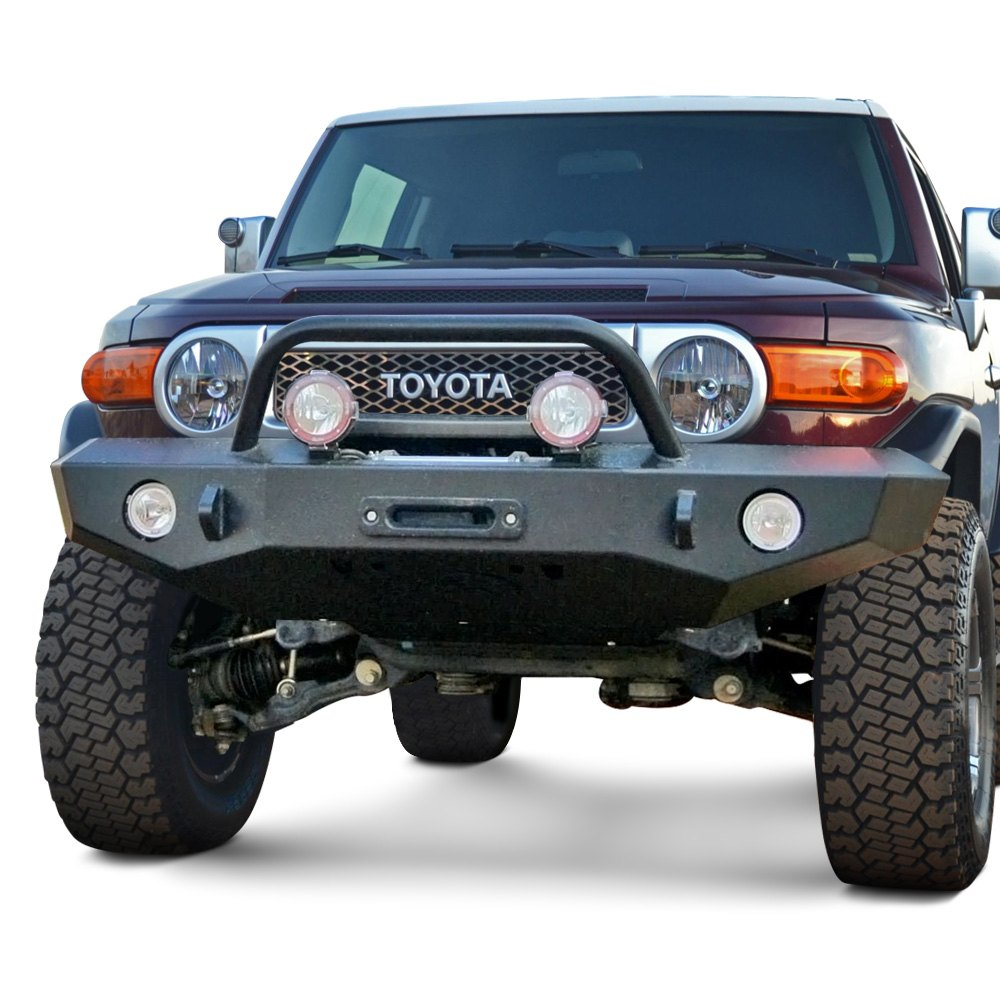 Expedition One  Trail Series Front Bumper with Center Hoop