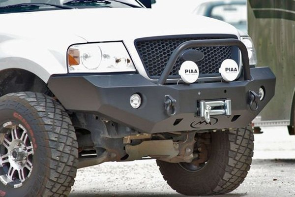 05 F150 Bumper >> Expedition One Rangemax Full Width Front Winch Hd Bumper With Center Hoop