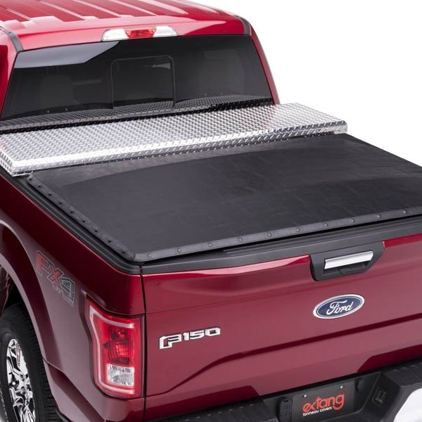 Extang Toyota Tacoma 2016 Classic Platinum Tool Box Soft Roll Up Snap Tonneau Cover