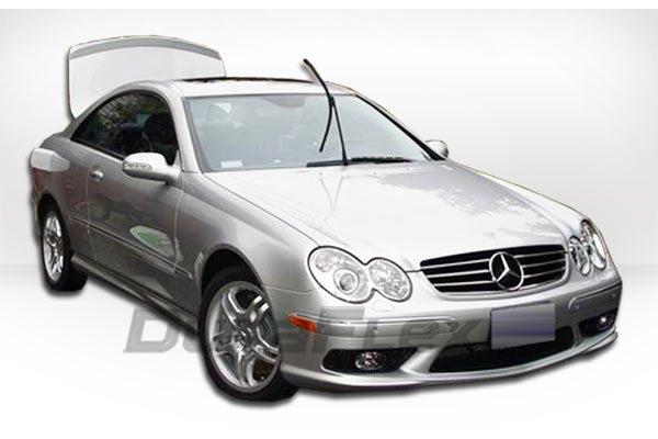 Mercedes clk black body kit for Mercedes benz clk body kit