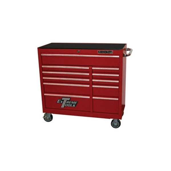Extreme tools 18 extreme 41 11 drawer roller cabinet for Sideboard roller