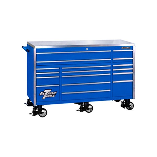 Extreme tools 72 39 39 professional series 17 drawer triple for Roller sideboard