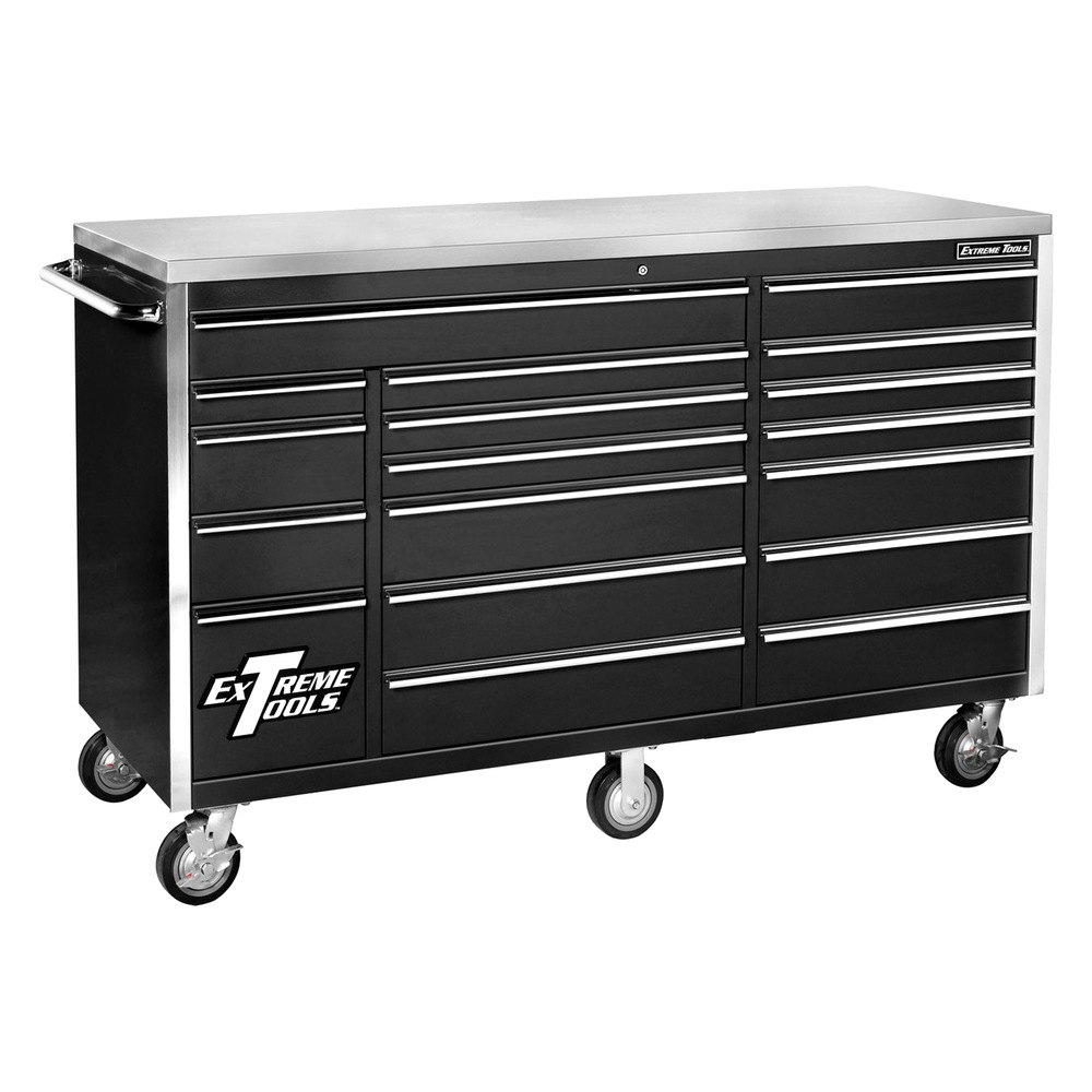 Extreme tools ex7218rcbl 72 39 39 standard series 18 drawer for Roller sideboard