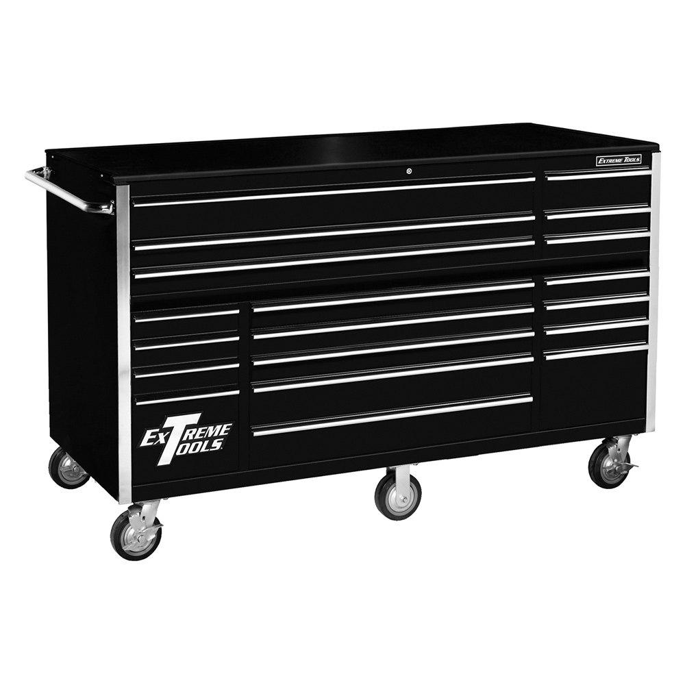 Extreme tools 72 19 drawer roller cabinet for Sideboard roller