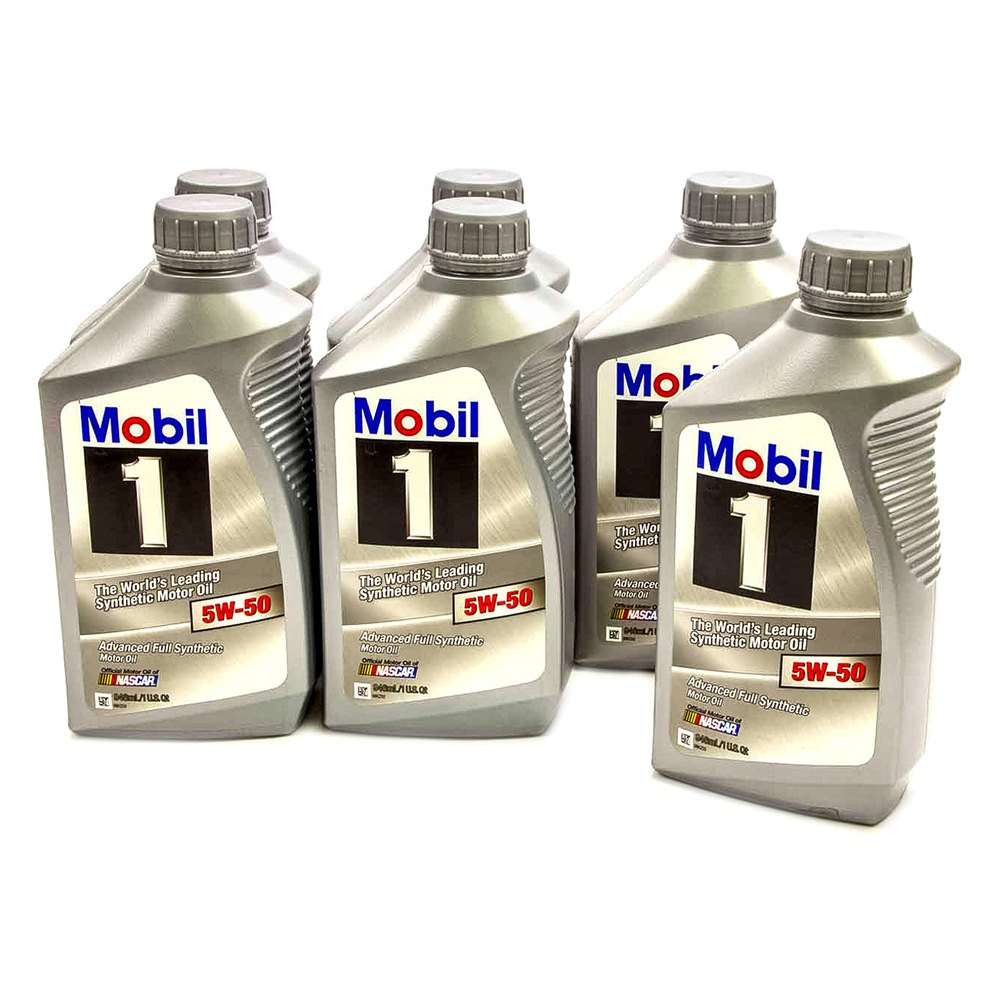 Mobil 1 106035 Sae 5w 50 Advanced Full Synthetic Oil