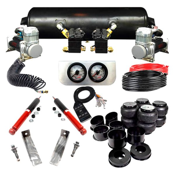 EZ Air Ride® - Elite™ Front and Rear Air Suspension Kit