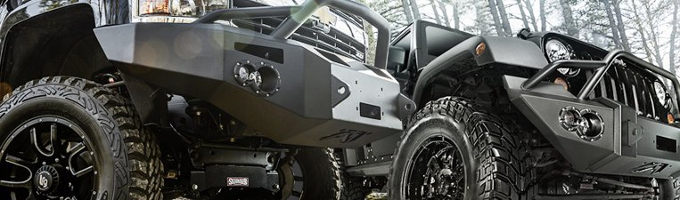 Fab Fours Off-Road Bumpers
