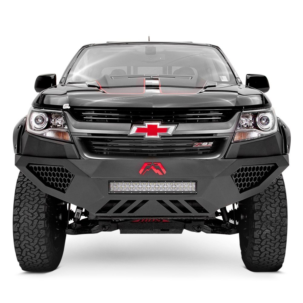 Fab Fours Chevy Colorado  Vengeance Full Width Black Front Hdper