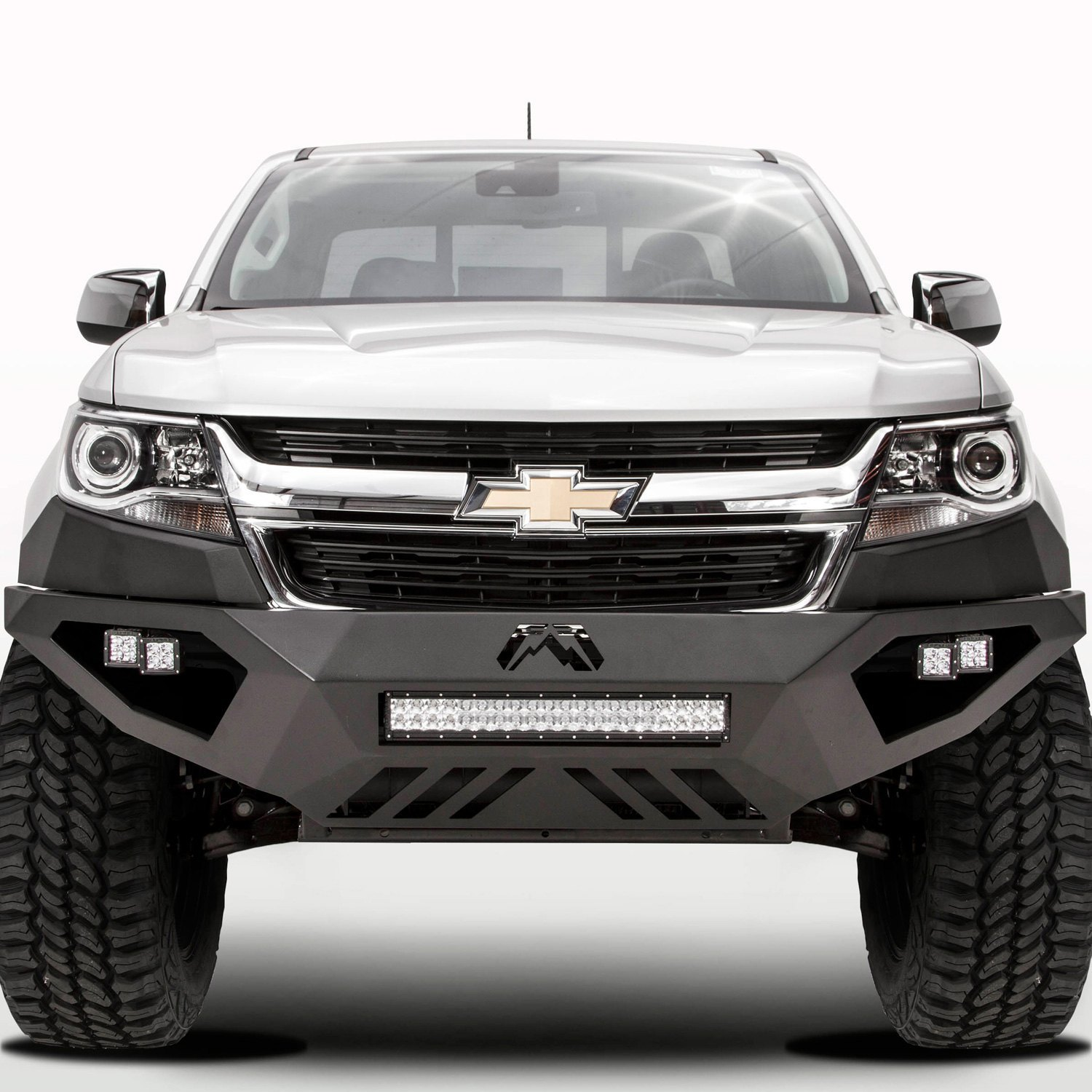 fab fours chevy colorado 2016 vengeance full width front hd bumper. Black Bedroom Furniture Sets. Home Design Ideas