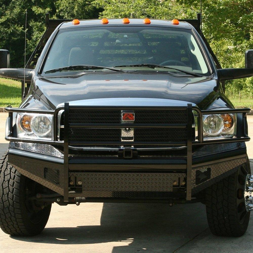 Dodge Ram 2008 Black Steel Full Width Black