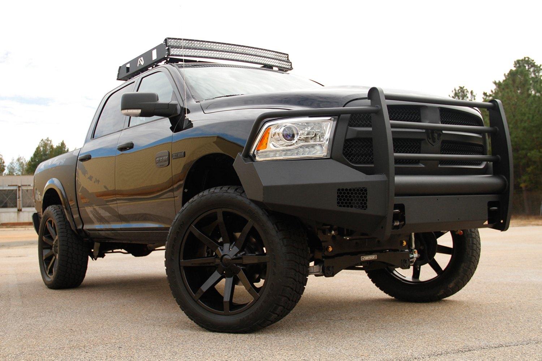 Fab Fours Dodge Ram 2013 Black Steel Elite Full Width