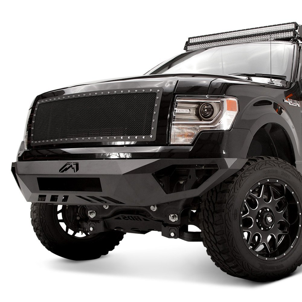 Fab Fours Ford F 150 2010 Vengeance Full Width Front HD