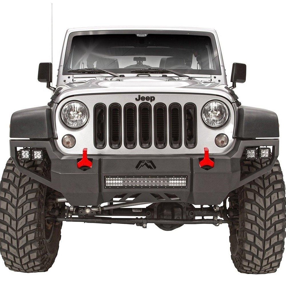 Fab Fours 174 Jeep Wrangler 2007 Vengeance Full Width Black