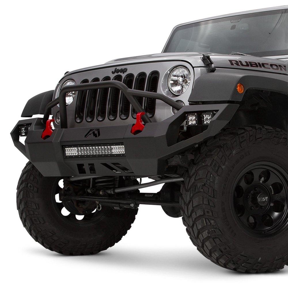 Fab Fours 174 Jeep Wrangler 2014 Vengeance Full Width Front